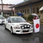 東日本ラリー選手権で田近ランサーが優勝!