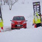 BICC Rally of Tsumagoi でDE5FSデミオ用クロスミッション実戦デビュー