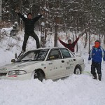 レチウス雪上練習会の画像
